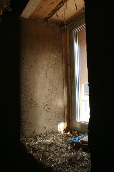 Tiefe Fensterlaibung In Nordwand