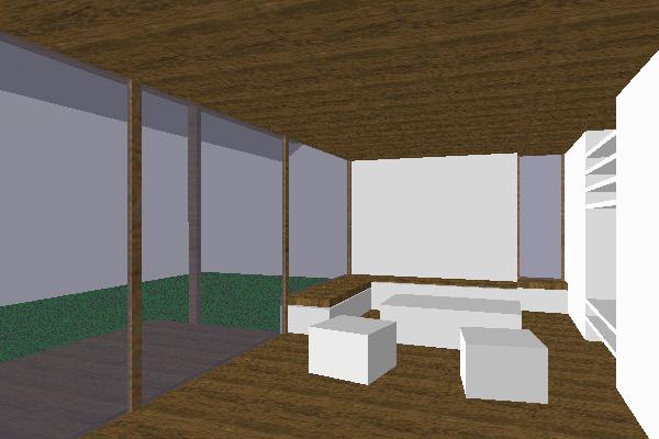 Innenansicht Wohnraum